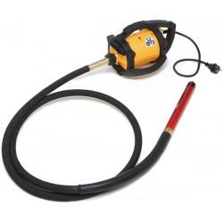 Vibrator beton DINGO ENAR cu ax flexibil de 4m si cap vibrare 25/38/48/58mm, alimentare 220V
