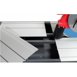 Masa de Taiat gresie, granit, marmura RUBI DX-350-N 1300 Laser&Level, Lungime taiere 148cm, disc 350mm