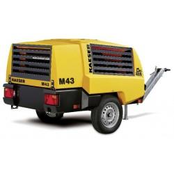 Compresor mobil M43 PE KAESER