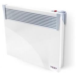 Convector electric de Podea, model TESY CN03 100 MIS F, putere 1000W, cu termostat manual, 6 trepte