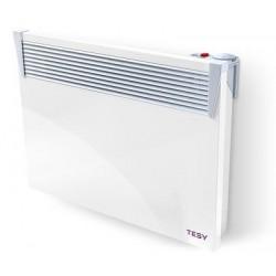 Convector electric de Podea, model TESY CN03 150 MIS F, putere 1500W, cu termostat manual, 6 trepte