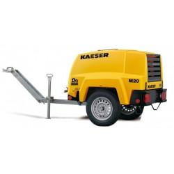 Compresor mobil M20 PE KAESER