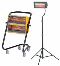 Incalzitoare electrice de interior cu raze infrarosii Seria MT si CL